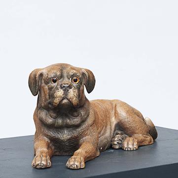Terracotta hund