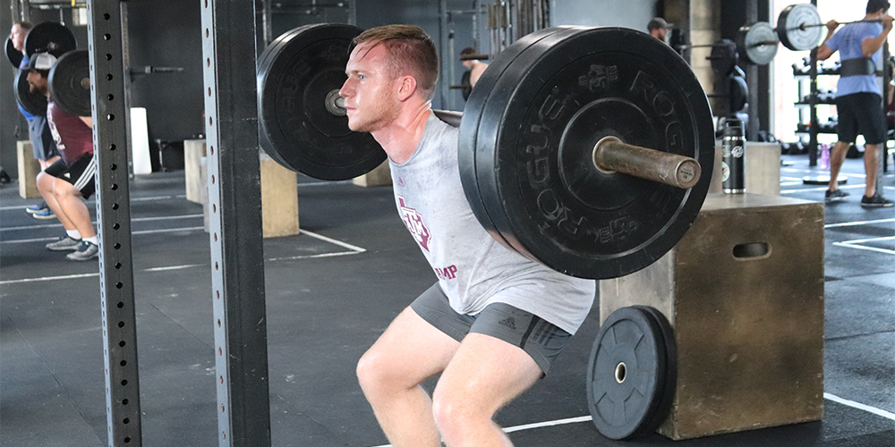 CrossFit Brings Normalcy to College Students
