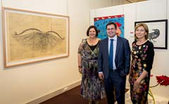 Photo of Rio Tinto Alcan Martin Hanson Memorial Art Award Overall winner Martin King