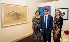 Photo of Rio Tinto Alcan Martin Hanson Memorial Art Award Overall winner Martin King