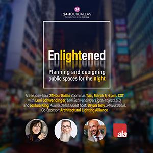 Register for 24HourDallas' Enlightened Webinar