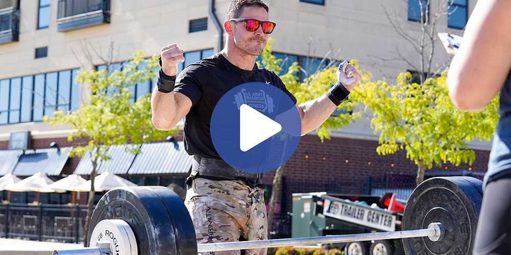 Masters Athlete Tony Kurz; Father, Soldier and CrossFit Athlete