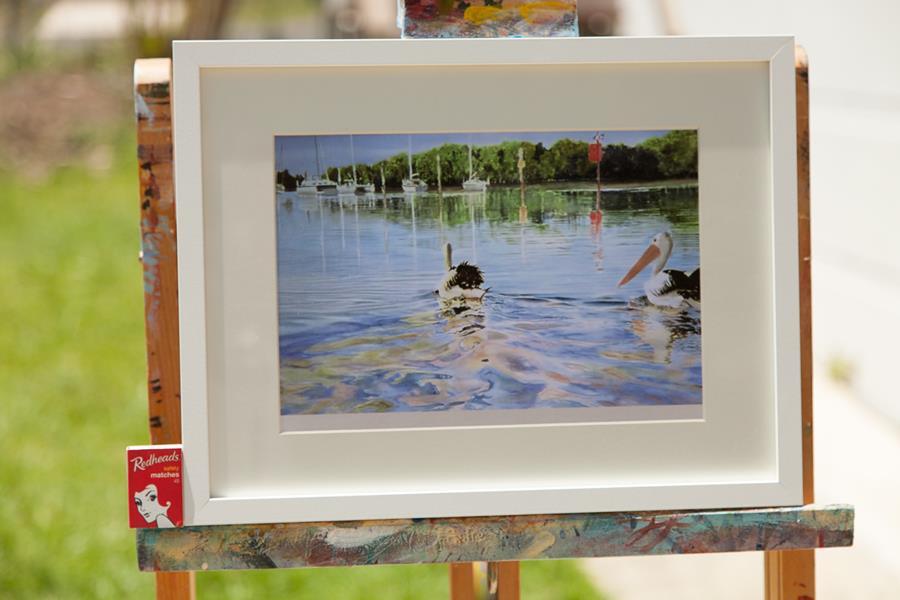 pete martin artist pelican wakes