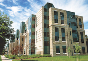 Campus residence building
