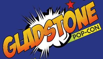 Gladstone Pop Con logo