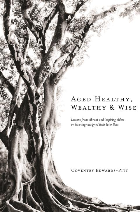 Cover of a book showing the book title and a very old tree
