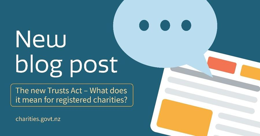 New blog post: The new trusts act
