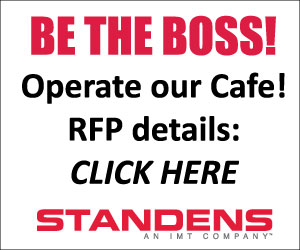 Ad: Standens - Operate our Cafe!