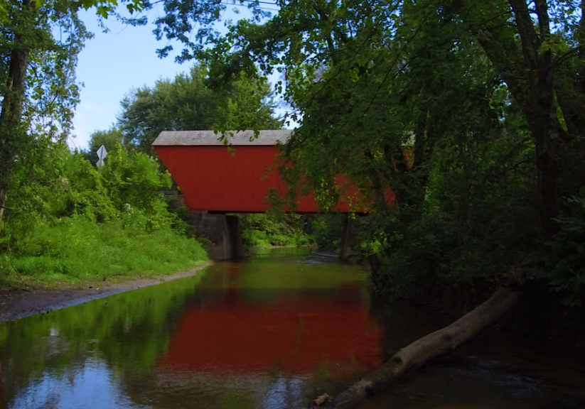Covered Bridge in Pittsford, Vermont