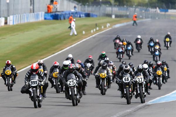 Lansdowne bikes at Silverstone in 2018
