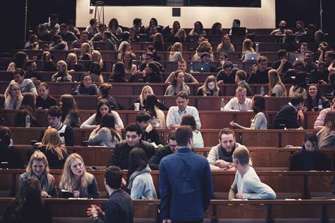 CBS students. Photo: Bjarke MacCarthy