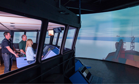 Aurora Australis in AMC's Simulator