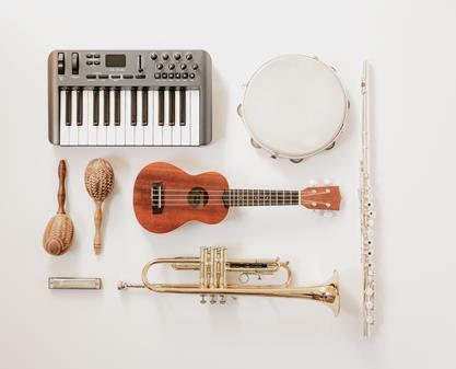 Hoe geef ik aan dat ik verschillende instrumenten speel ?