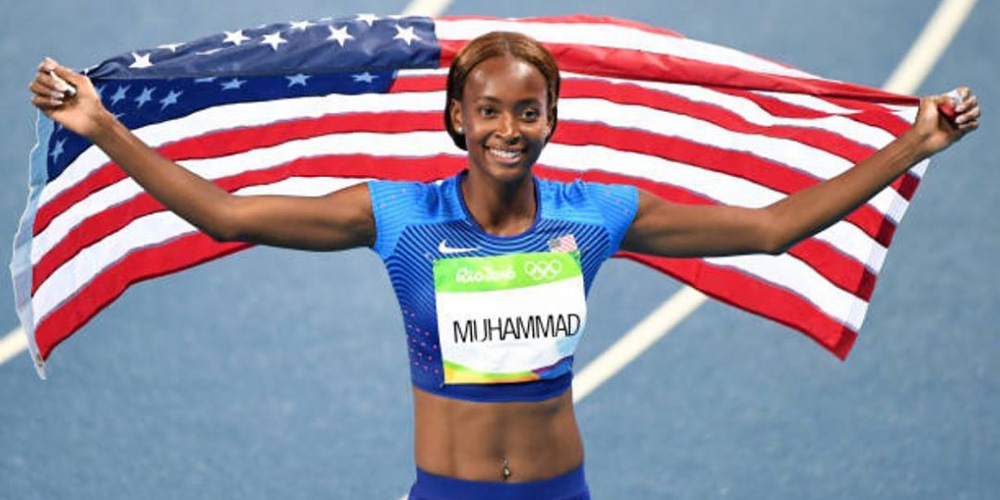 Not That Fit: Getting Faster with World Record Sprinter Dalilah Muhammad