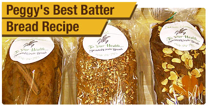 Peggy's Best Batter Bread Recipe