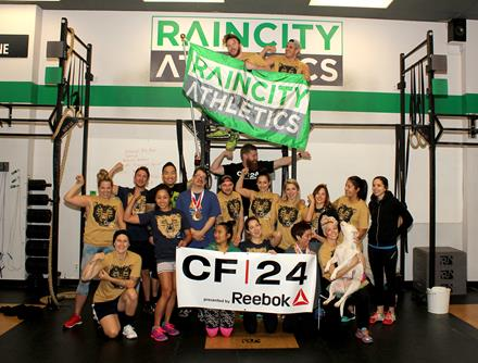 CF24 in support of Special Olympics at Raincity Athletics