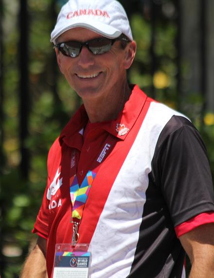 Special Olympics BC – Abbotsford coach Tom Norton