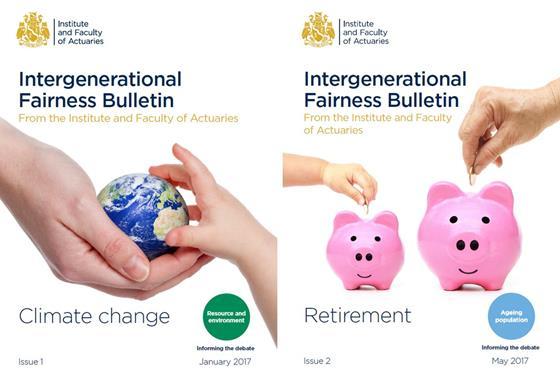 Intergenerational Fairness bulletins