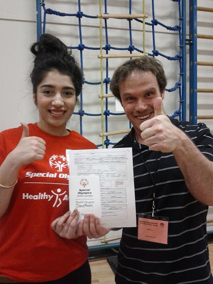 Special Olympics Healthy Athletes Screening Day