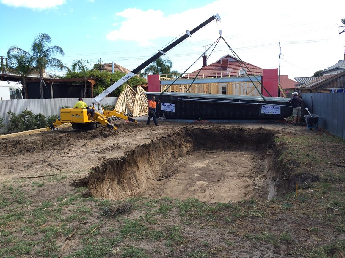 swimming pool installation for Adelaide home extensions