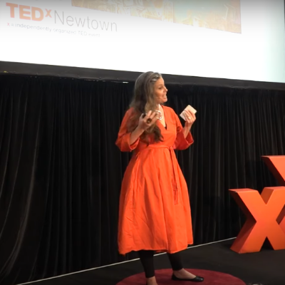 Kate Harris Presents Materials Matter at TEDxNewtown