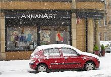 Snowfall, Woodlands Road