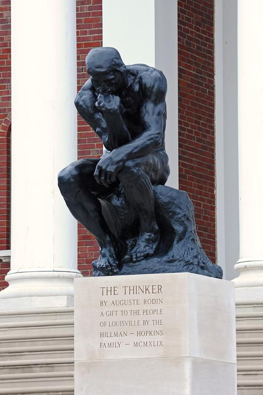 image of the Thinker statue