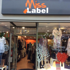 Image of Miss Label shop window