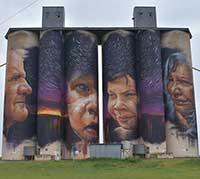 Grain silo in Horsham