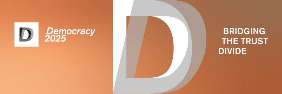 Democracy 2025 logo