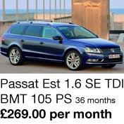 Passat Estate 1.6 SE TDI - 269.00