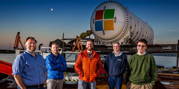 Microsoft dives deep to find new real estate