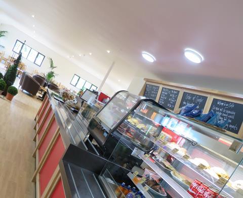Arrington Garden Centre Cafe - New Tray Bakes July 2018