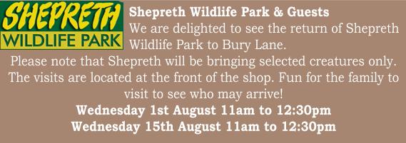 Bury Lane Farm Shop Shepreth Visits August 2018