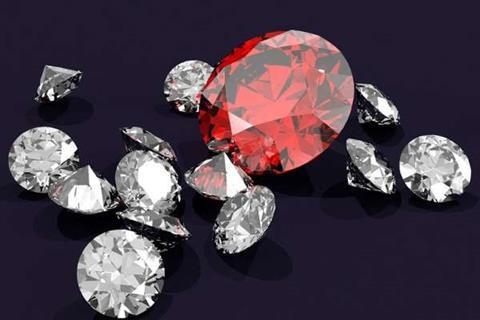 Blockchain in diamond industry