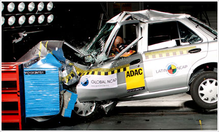 Millions of new cars worldwide fail UN safety standards.