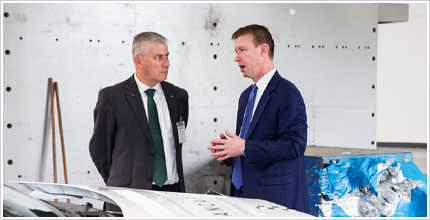 New Minister visits ANCAP crash test