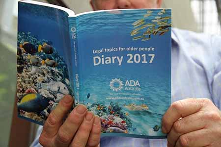 2017 Legal Topics for Older People Diary