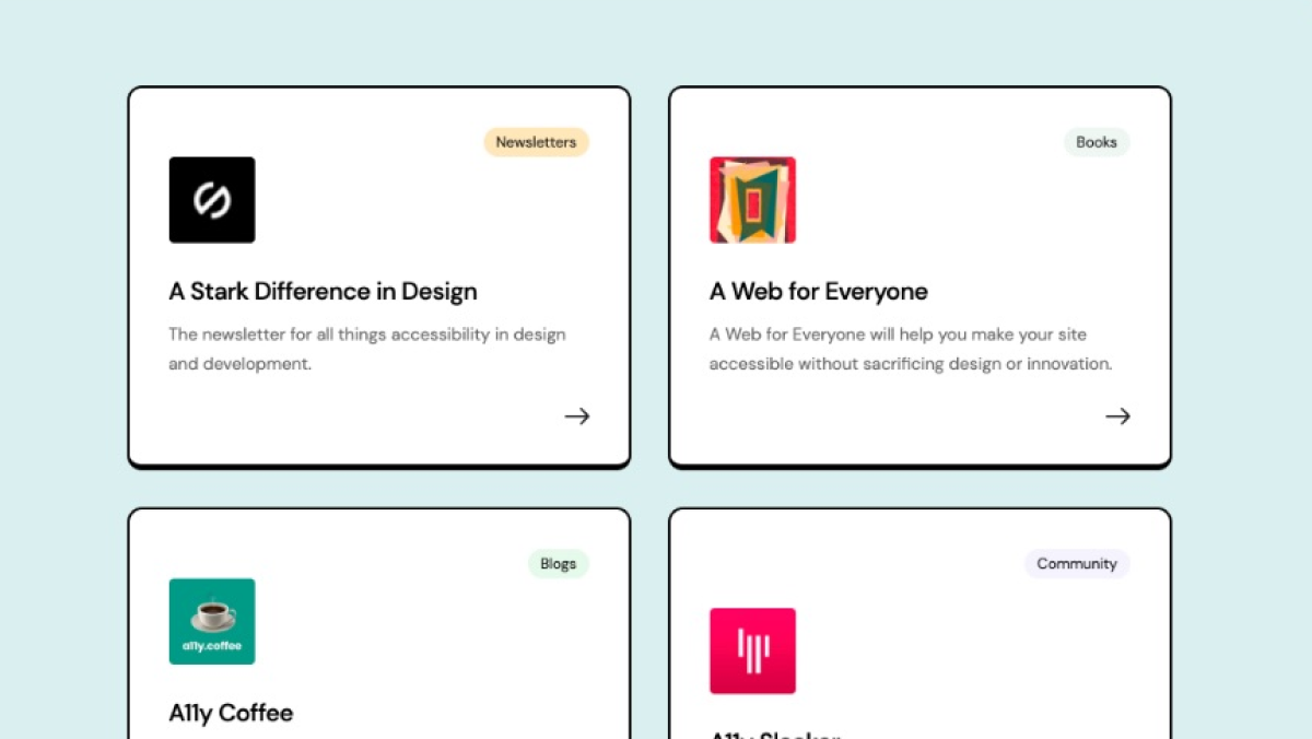 A growing list of accessibility tools and resources