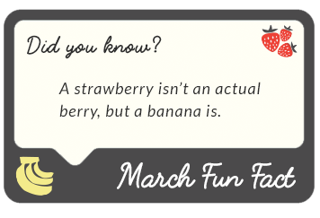March 2017 fun facts