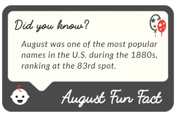 August 2016  fun facts