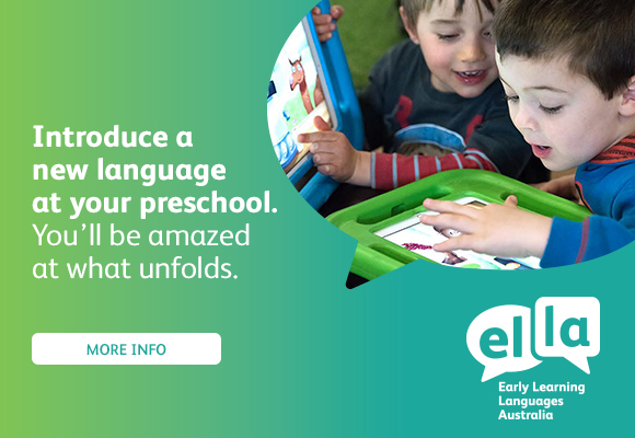 Introduce a new language at your preschool. You'll be amazed what unfolds. Select for more info.