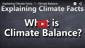 What is climate balance?