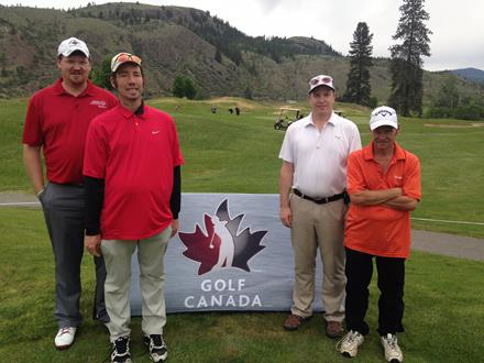 Special Olympics golfers at Golf Canada event