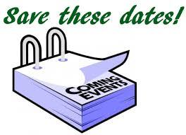 Réservez ces dates