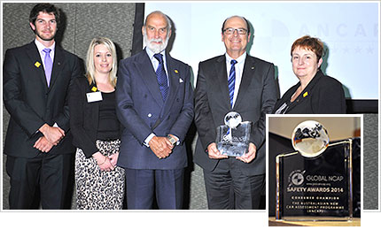 Vehicle safety program recognised by HRH Prince Michael of Kent.