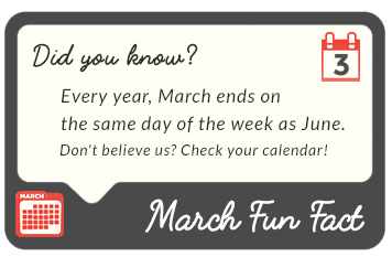 March 2016  fun facts