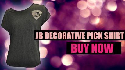 New JB Decorative Pick Shirt. Get it here