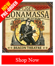 Pre-Order Joe Bonamassa Beacon Theatre Live From New York 2CD NOW