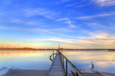 jetty at port stephens